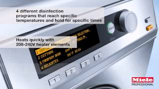 Miele Professional Laundry Care Technology
