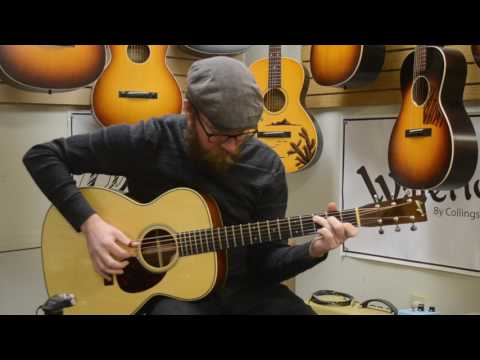 Acoustic Music Works - 2008 Bourgeois Vintage OM, Adirondack, Brazilian