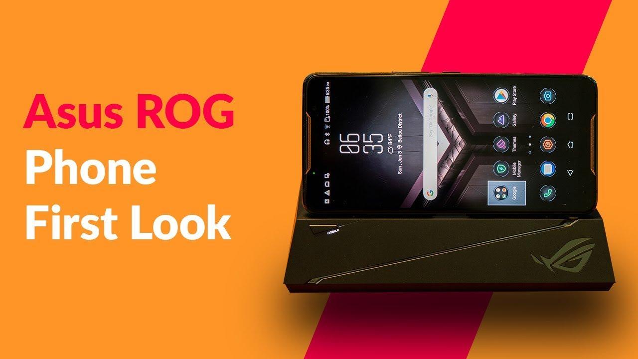 Asus ROG Gaming Phone & Accessory Kit First Look & Demo | Digit in