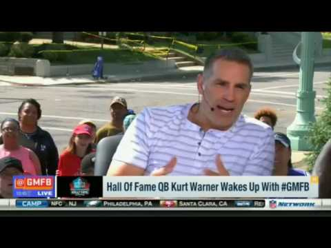 Good Morning Football | Hall Of Fame QB Kurt Warner Joins The Show