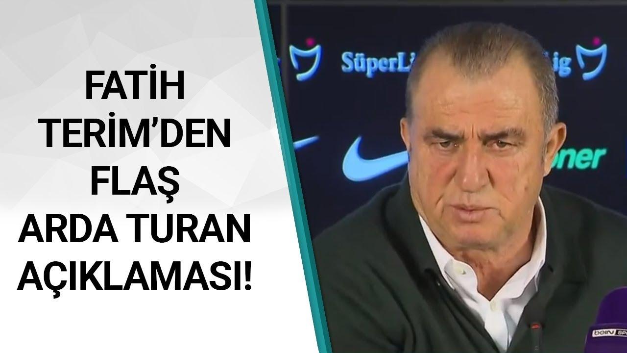 Galatasaray 5 - 0 Antalyaspor Fatih Terim Maç Sonu Basın Toplantısı Düzenledi / A Spor