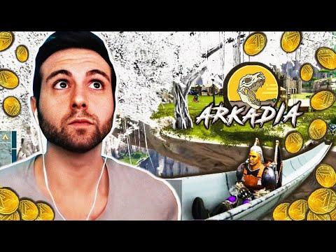 ARKADIA - EL TOBOGAN MAS GRANDE DE ARK!