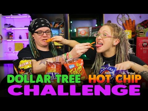 ☆Dollar Tree Hot Chip Challenge | What!? What!? ☆