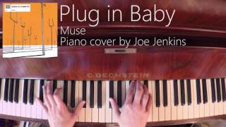 Muse - Plug in Baby - Piano cover/tutorial