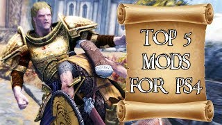 Top 5 mods of the month for Skyrim on PS4 #3