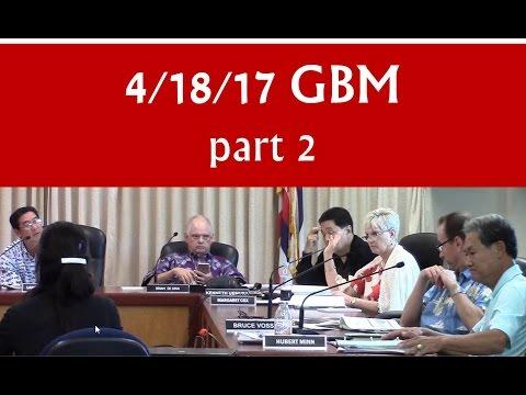 Apr 18, 2017 – Hawaiʻi BOE General Business meeting (GBM) [part 2 of 2]