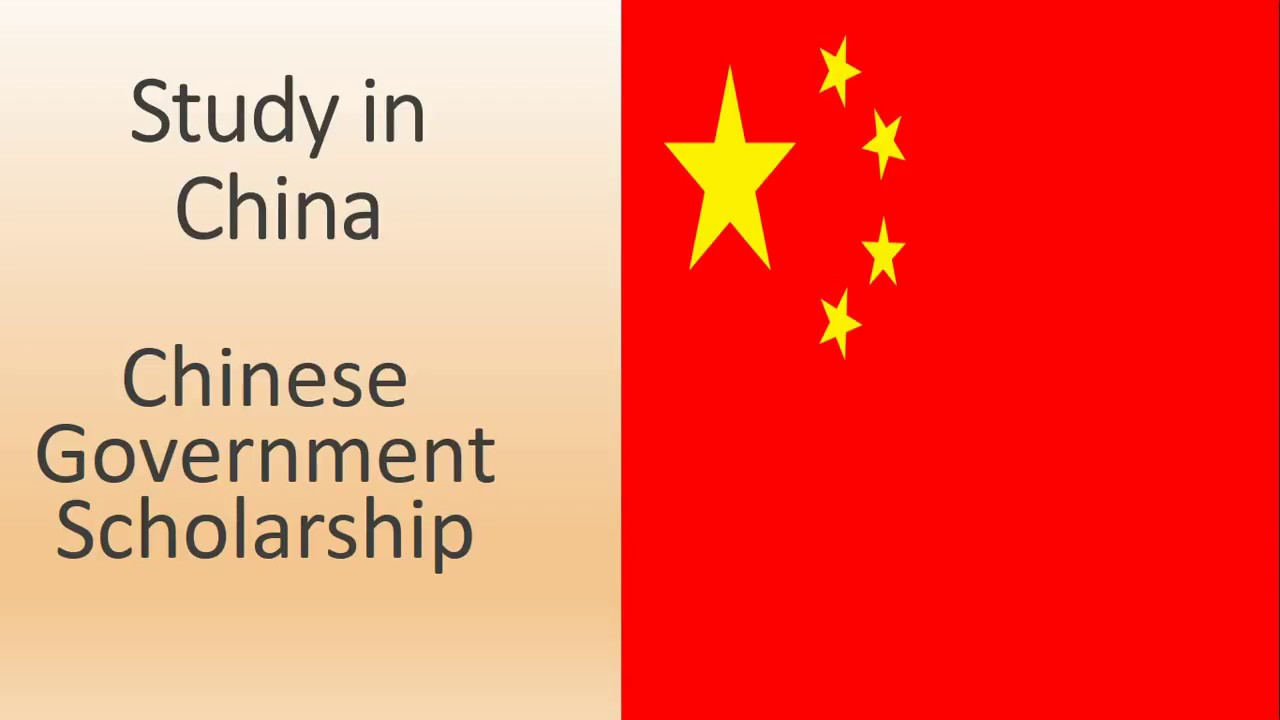 Chinese Government Scholarship Youtube