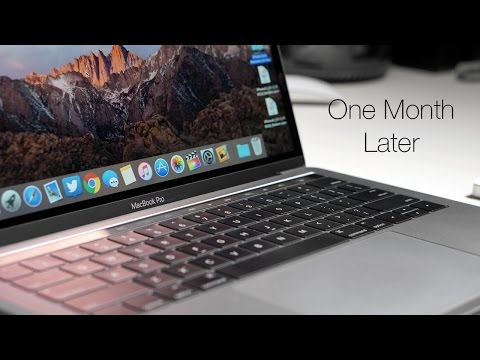 2016 MacBook Pro - One Month Later