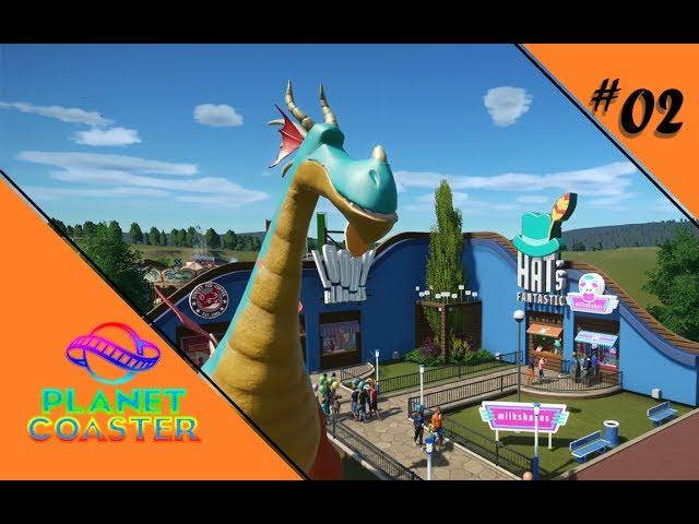 ALLE HÄNDE VOLL ZU TUN 🎢 Let's Play Planet Coaster #02