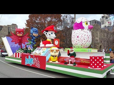 2017 Toronto Santa Claus Parade | Christmas Carnival Full Show
