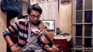 Maula Mere Le Le Mari Jaan | Violin Cover by Oindra | Chak De! India