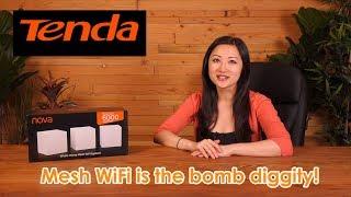 Tenda Nova Whole Home Mesh WiFi System (Model MW6): Overview + Tutorial