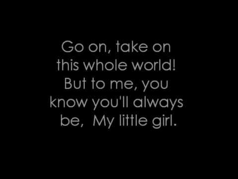 My little girl - Tim McGraw (Lyrics)