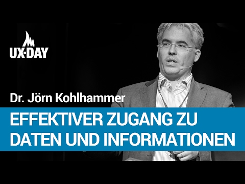 Visual Business Analytics – Dr. Jörn Kohlhammer | UX-DAY 2014