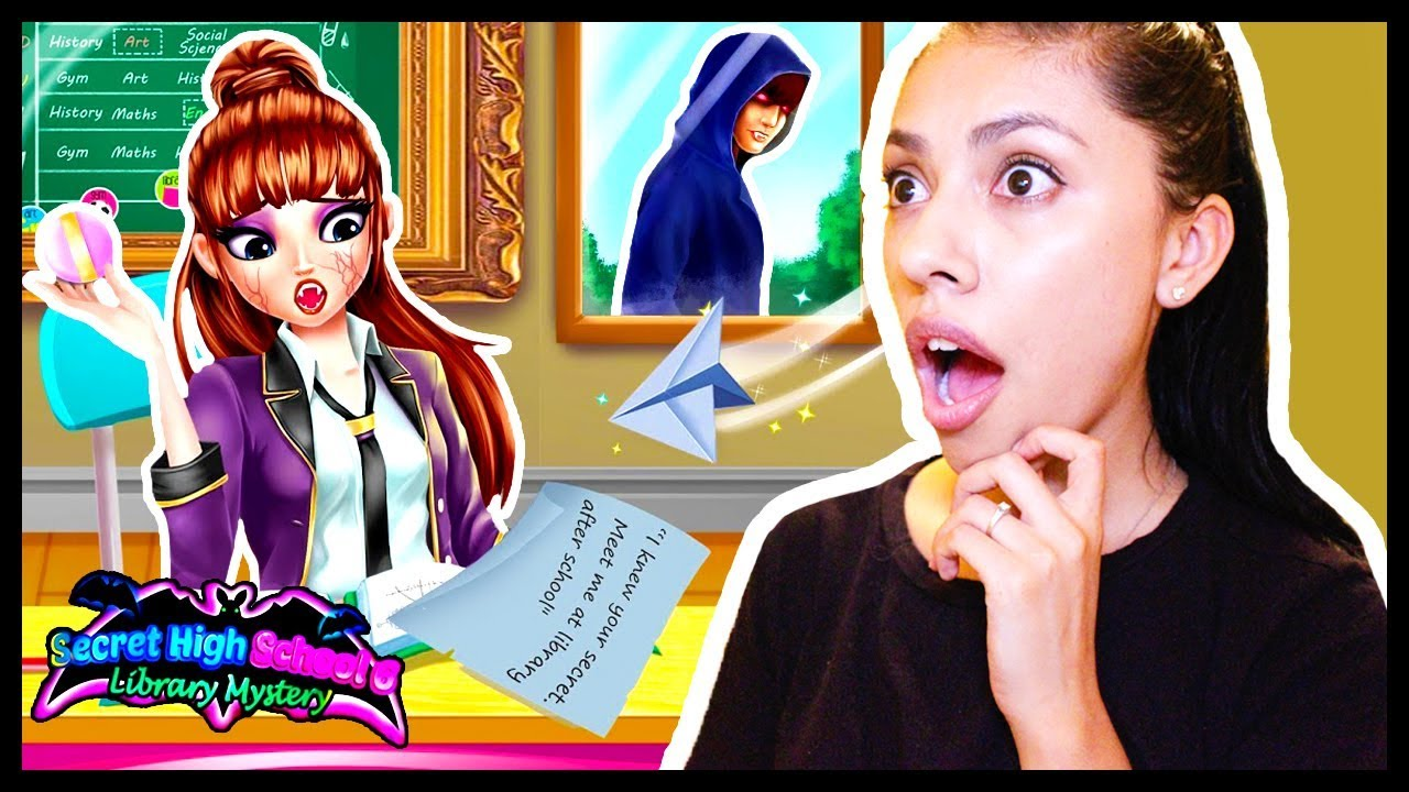 THE END! - SECRET HIGH SCHOOL LOVE STORY 6: LIBRARY MYSTERY! - App Game