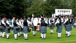 Europeans 2012: Boghall & Bathgate Caledonia Juvenile Pipe Band