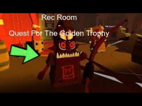 Quest For The Golden Trophy   Rec Room VR