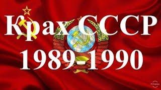 Крах СССР. 1989-1990. От Демшизы до Ельцина