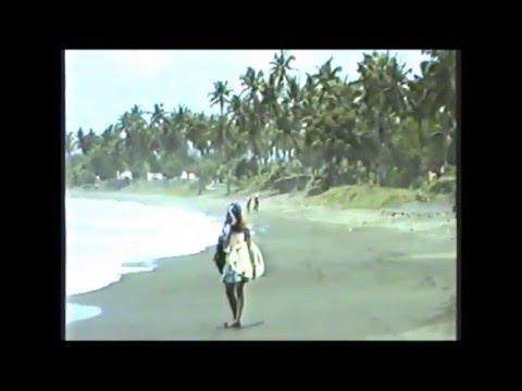 Surfing Luzon, Philippines 1985.