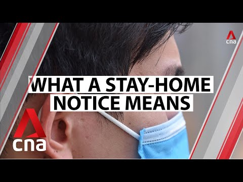 COVID-19: What does a stay-home notice mean? What happens if you flout the rules?