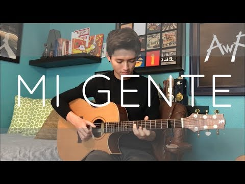 Mi Gente - J Balvin, Willy William - Cover (Fingerstyle Guitar)