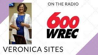 Live on the Radio in Memphis | Veronica Sites