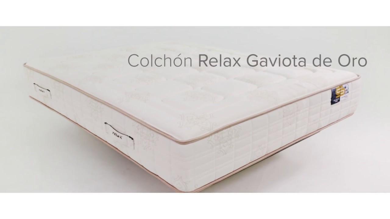 Colchones Relax Bilbao.Colchon Relax Gaviota De Oro Modelo 2018