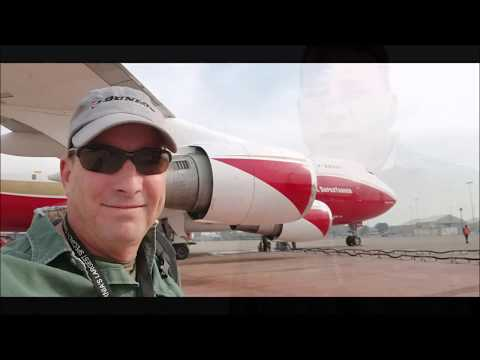 747 Global Supertanker Camp fire Day 6 UPDATE McClellan Load and Return