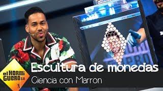 Marron crea la escultura de monedas de Romeo Santos - El Hormiguero 3.0
