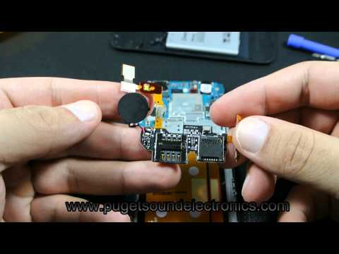 How to disassemble/take apart At&t Pantech Flex P8010