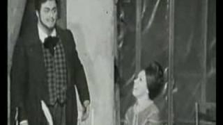 Luciano Pavarotti/Mirella Freni - O soave fanciulla - Live 1969