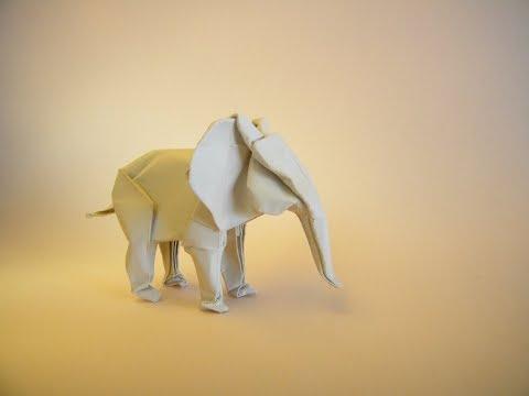 How To Make Origami Elephant Sipho Mabona Youtube