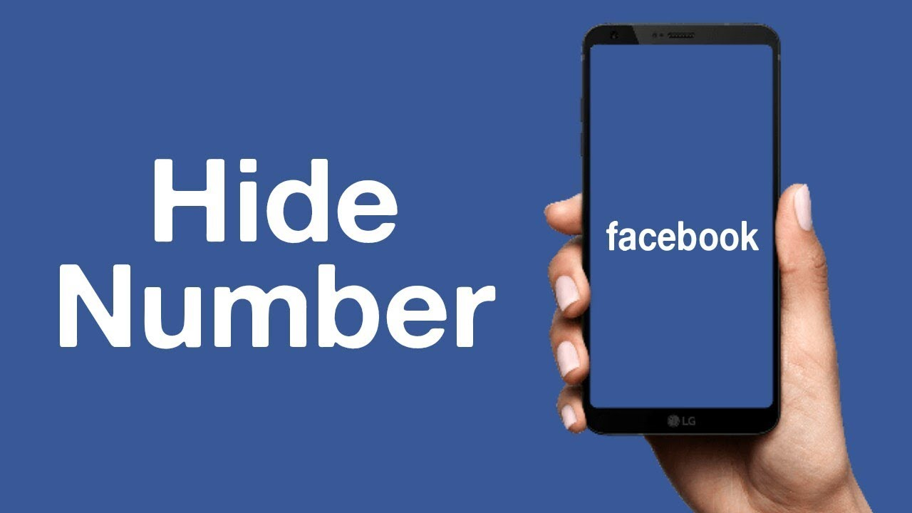How to see hidden number on facebook