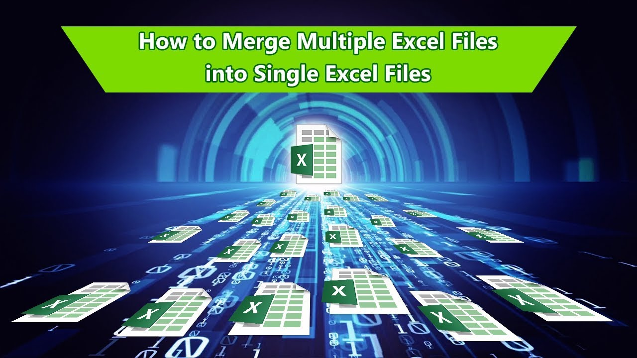 How to merge multiple excel files into one excel file YouTube – Merge Multiple Excel Worksheets into One