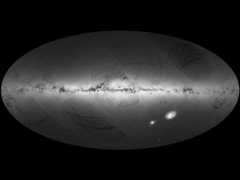 Gaia Space Telescope Charts 1 Billion Stars in 3D