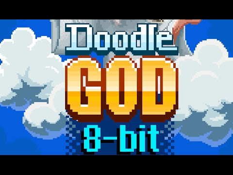 DOODLE GOD 8 BIT MANIA - iOS Gameplay Trailer