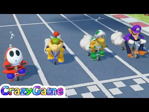 Super Mario Party - All Sport Minigames Gameplay