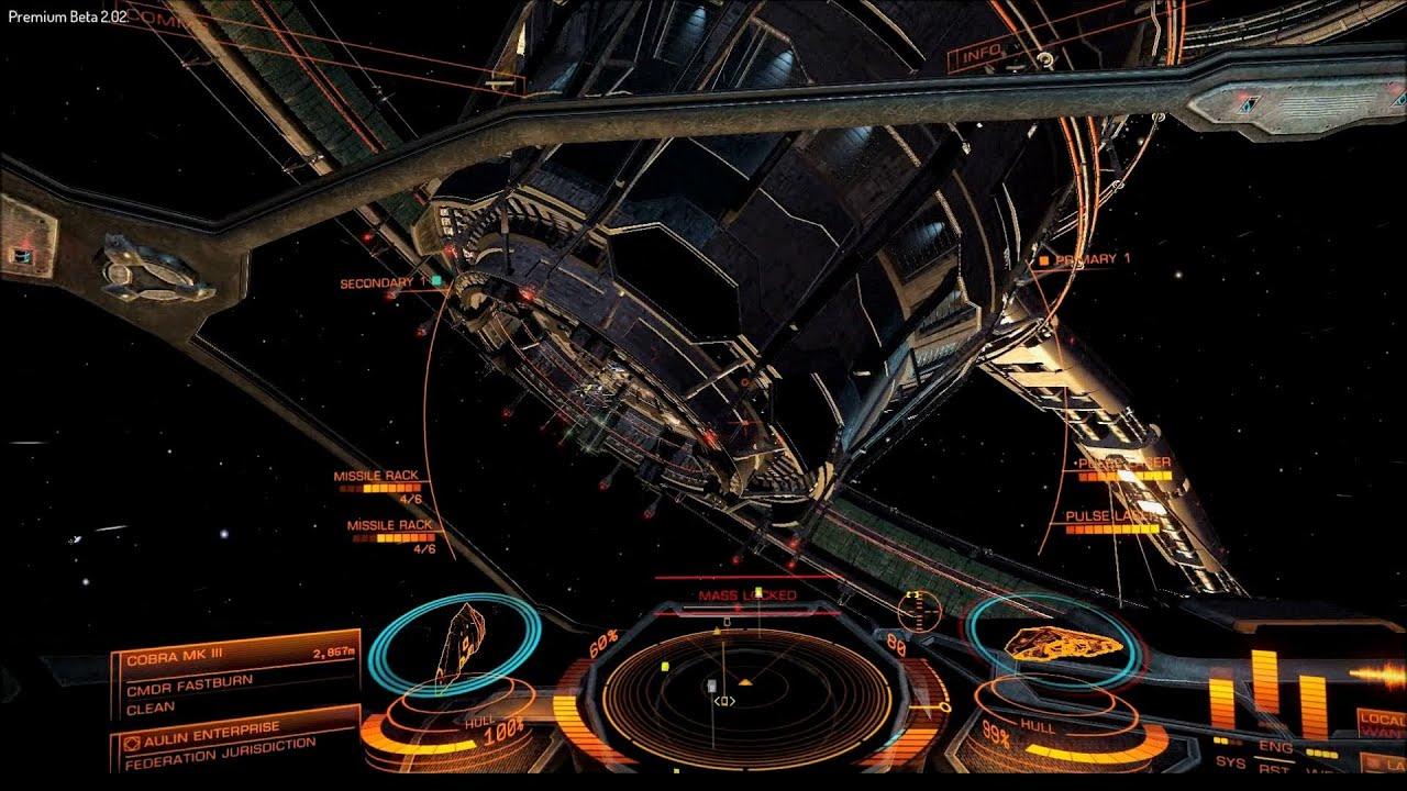 elite dangerous how to use cargo scoop
