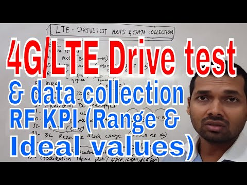 LTE drive test log collection and kpi , explained by niladri nihar nanda