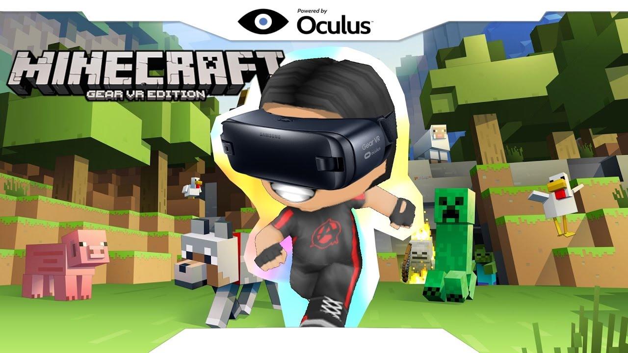 Minecraft Gear VR : #11 procurando recursos ! ft. JGAME - YouTube