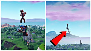 How to Fly in Fortnite with this glitch (Flying glitch) Fortnite Glitches Season 7