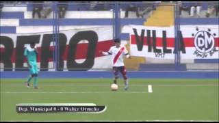 ADFP-SD: Deportivo Municipal 0 - Walter Orme�o 0