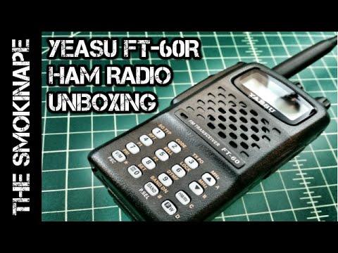 How to Program the Yaesu FT-60R with Chirp | FunnyDog TV