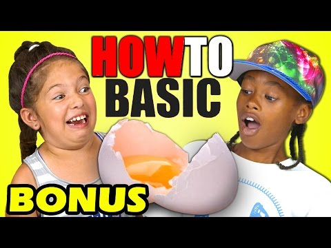 Thumbnail: KIDS REACT TO HOWTOBASIC (Bonus #155)