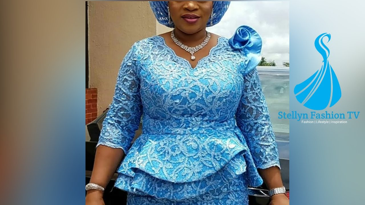 2020 Trending Asoebi Style Collection: Popular and Latest Ankara/Lace Styles for African Ladies