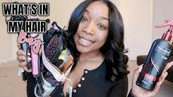 TOP 10 BEST HAIR PRODUCTS FOR WEAVE!! FT  YOLISSA HAIR!