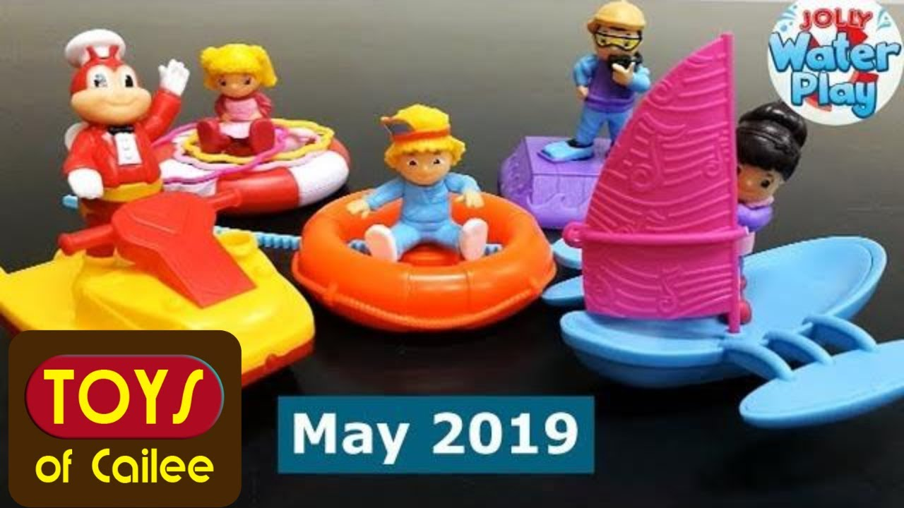 Jollibee Toys Kiddie Meal Jolly Water Play Toys Of