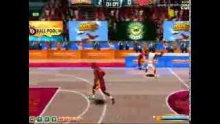 Juego de baloncesto