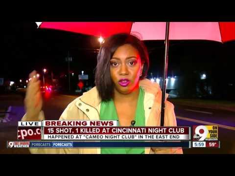 Chaos inside Cincinnati nightclub as shooting begins