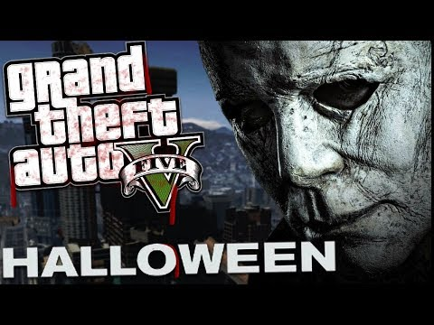 THE NEW HALLOWEEN MOVIE MOD w/ MICHAEL MYERS (GTA 5 Mods Gameplay)